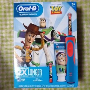 Oral B Toy Story rechargeable toothbrush